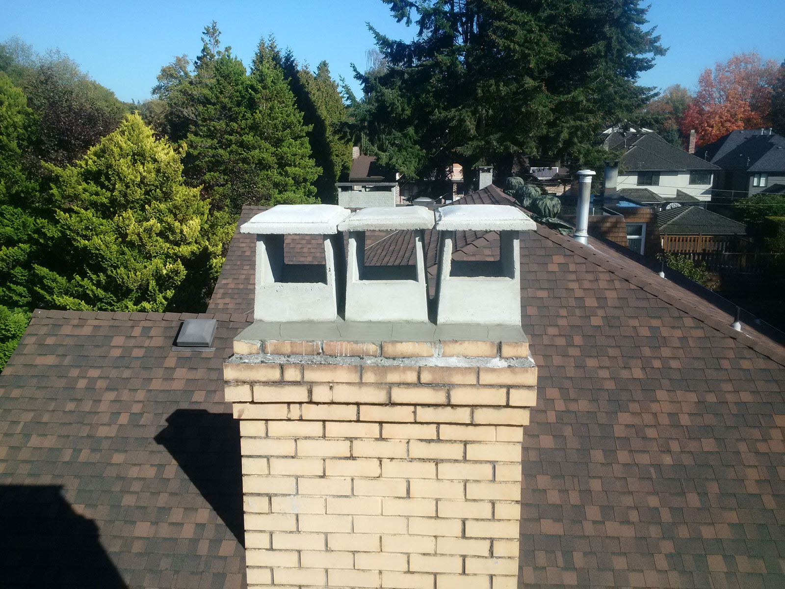 Millwall Roofing New Chimney Pots Crown Millwall Roofing Web